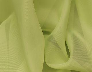 Voálová záclona hladká metráž Zelená