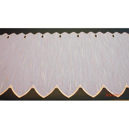 Krátká vitrážová záclona 45cm Laura Lososová