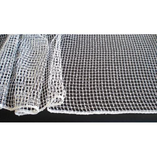 Síťovaná záclona s olůvkem Gerster 180 béžová