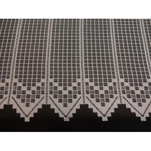 Krátká vitrážová záclona na tyčku 90cm 2681