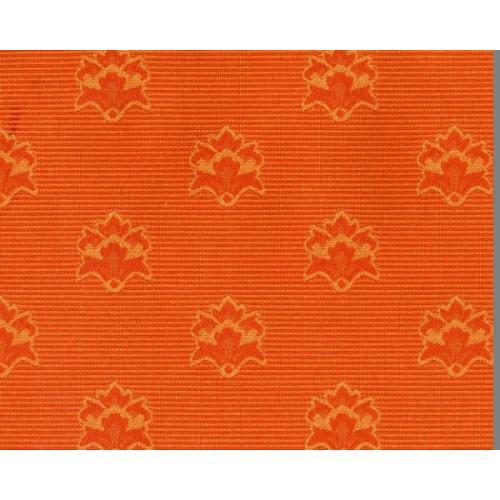 Dobová látka se zámeckým vzorem GARDENA 1966/220 oranžová