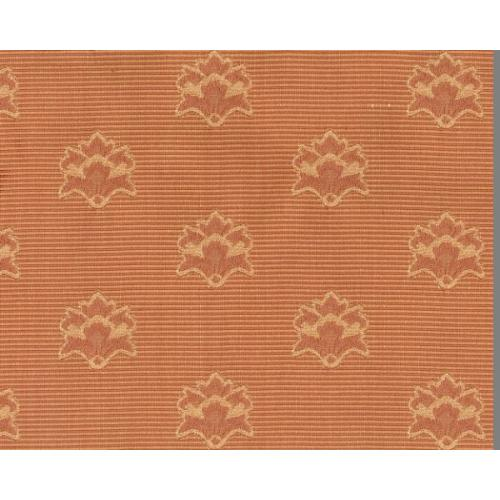 Dobová látka se zámeckým vzorem GARDENA 1966/704 starorůžová
