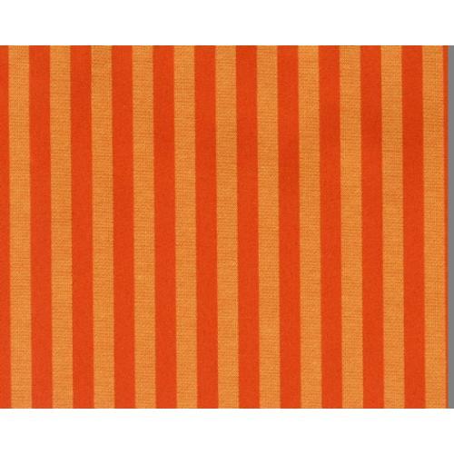 Stylová pruhovaná látka GARDENA 1967/220 oranžová