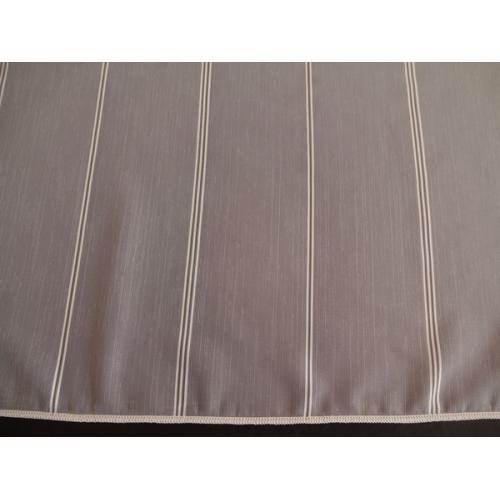 Bílá záclona s olůvkem Pleteninka 2908/180