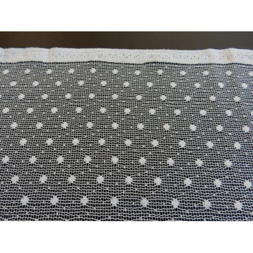 Žakárová záclona s bordurou 6812 Nopek 180 béžová