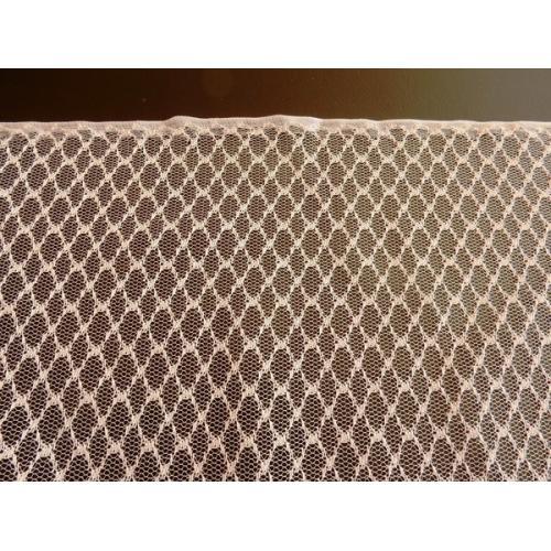 Moderní žakárová záclona s olůvkem Laguna smetanová