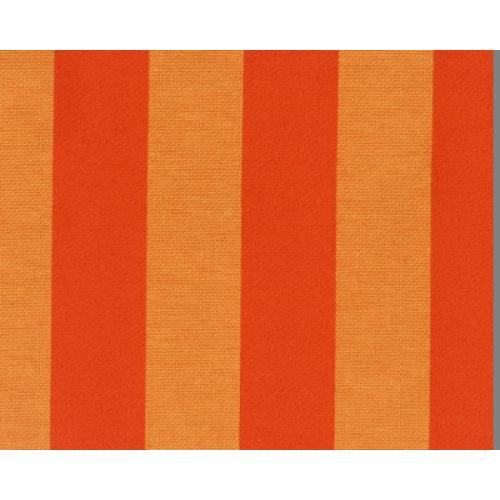 Stylová pruhovaná látka GARDENA 1968/220 oranžová