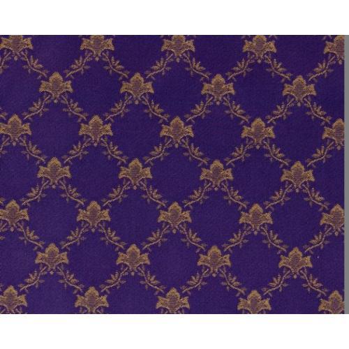 Dobová látka se zámeckým vzorem GARDENA 1970/570 modrá
