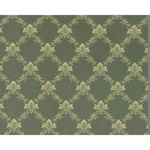 Dobová látka se zámeckým vzorem GARDENA 1970/604 zelená