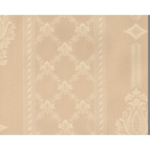 Dobová látka se zámeckým vzorem GARDENA 1972/000 bílá káva