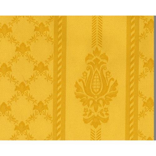 Dobová látka se zámeckým vzorem GARDENA 1972/174 zlatá