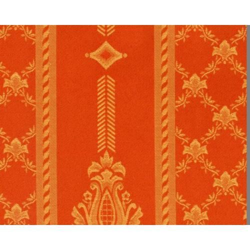 Dobová látka se zámeckým vzorem GARDENA 1972/220 oranžová