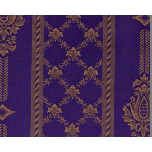 Dobová látka se zámeckým vzorem GARDENA 1972/570 modrá