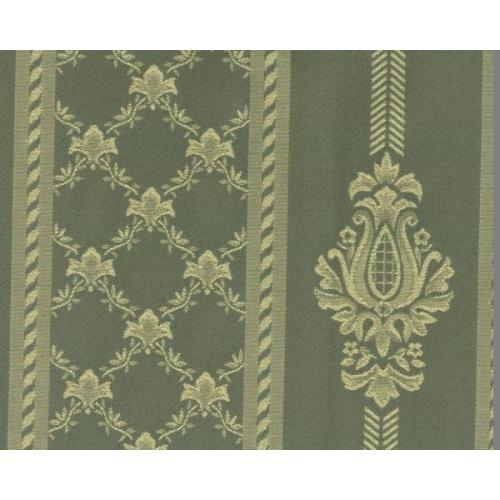 Dobová látka se zámeckým vzorem GARDENA 1972/604 zelená