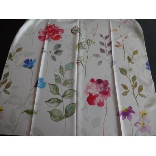 Dekorační závěsová látka s květy ESSEN 700