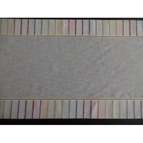 Dekorační štola na stůl metráž- barevná