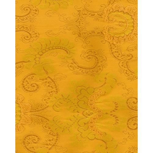Historická potahová látka se zámeckým vzorem SEINA 2090/174 zlatá