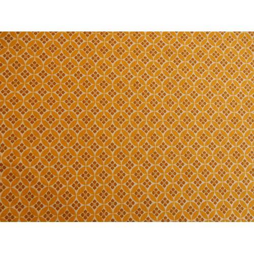 Dekorační bavlněná látka s ornamenty 214171/203