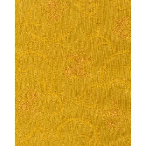 Čalounická potahová látka se zámeckým vzorem TREVA 2110/170 zlatá