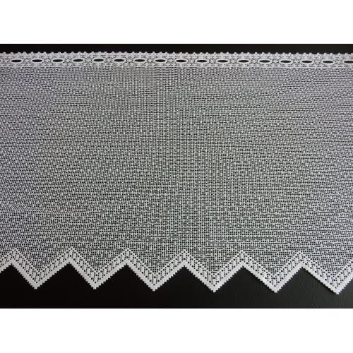 Krátká vitrážová záclona 60cm hrubá
