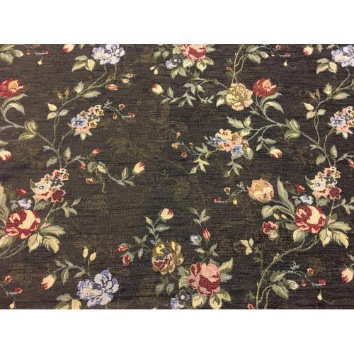 Gobelínová žinylka s květinovým motivem FLOWERS 336/105