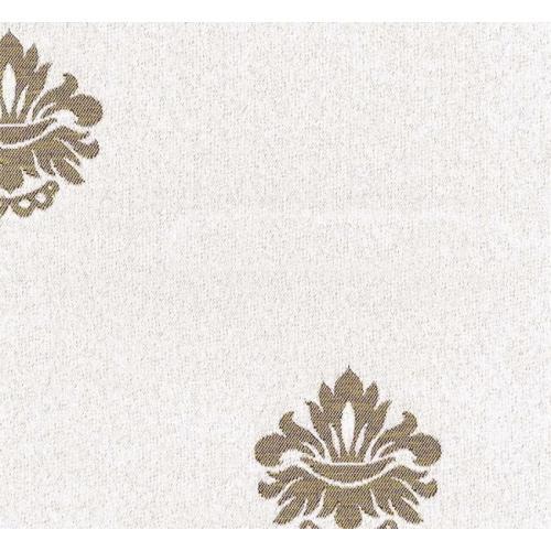 Potahová látka s moderním vzorem MERCURY 10 bílá
