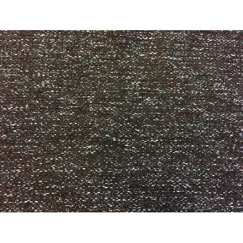 Žinylková potahová látka melír MIX 06 tmavě hnědá