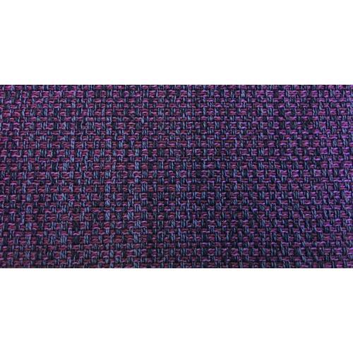 Žinylková potahová látka melír MIX 07 fialová