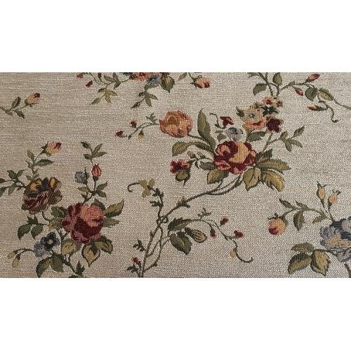 Gobelínová žinylka s květinovým motivem FLOWERS 336/110