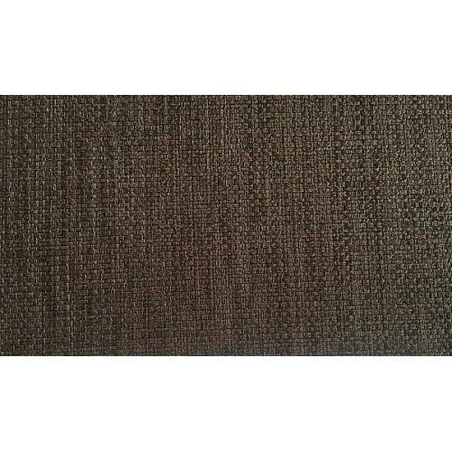 Žinylková potahová látka melírovaná MIX 21 tmavě hnědá