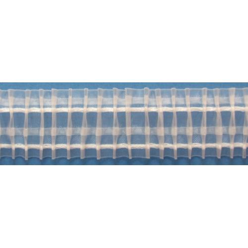 Záclonová řasící stuha šíře 50mm 8197 průhledná
