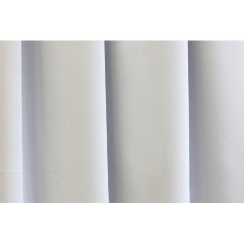 Dim out závěs PETER 01 jednobarevný bílý