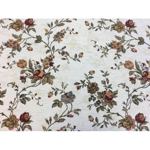 Gobelínová žinylka s květinovým motivem FLOWERS 336/100