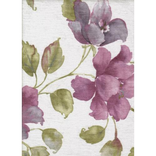 Žinylka s květinovým vzorem LIA 5090 fialová