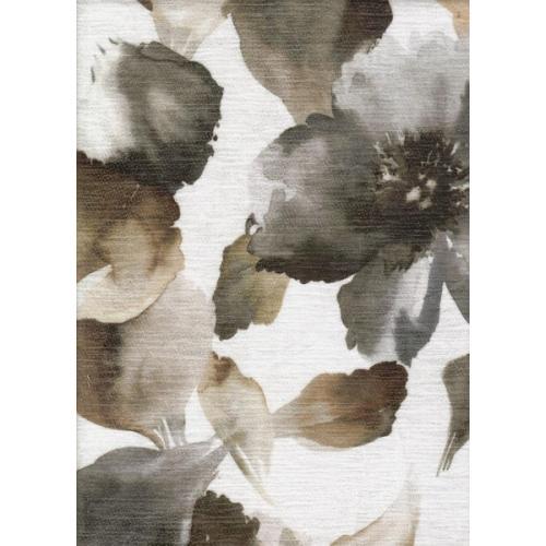 Žinylka s květinovým vzorem LIA 2115 šedá