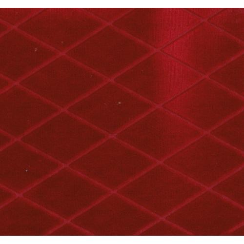 Tkaný potahový plyš FREDY 3 červená