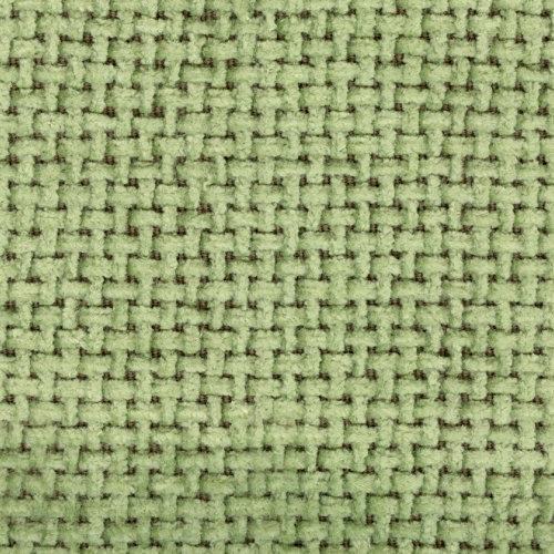 Žinylková potahová látka jednobarevná TOREM 611 zelená
