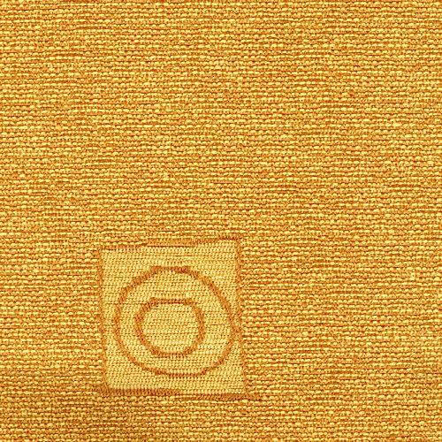 Žinylková potahová látka se vzorem REK 130 okrová