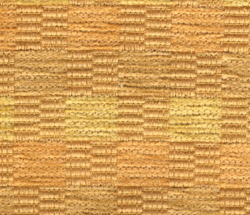 Žinylková potahová látka kostičky TAZA 110 zlatá