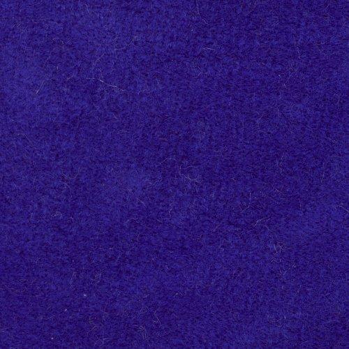 Mikroplyš metráž potahová látka ALKAT 22 královská modrá