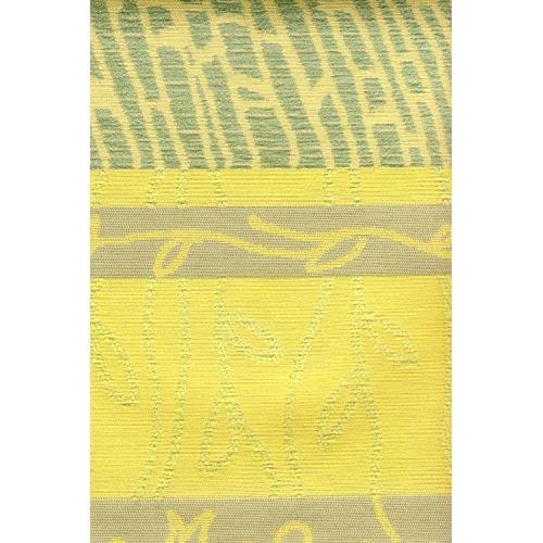 Potahová žinylka se vzorem NOJUS 5/17 zeleno-žlutá