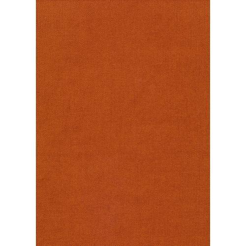 Čalounická žinylka jednobarevná metráž MYSTIC 62 tmavě oranžová