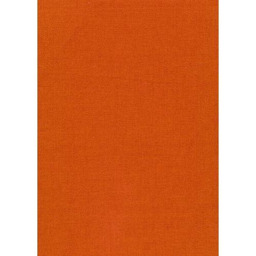 Čalounická žinylka jednobarevná metráž MYSTIC 64 oranžová