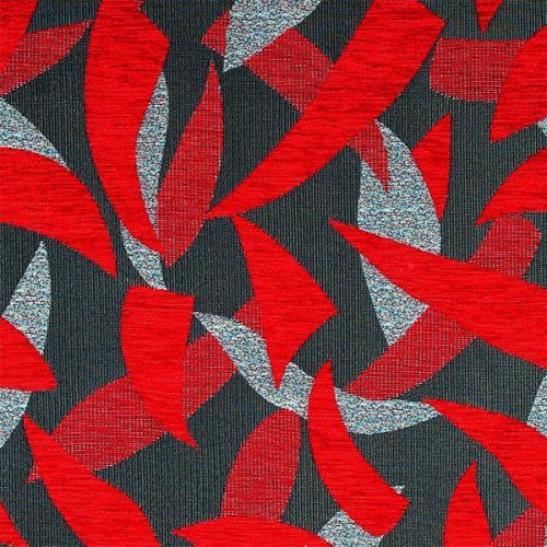 Čalounická žinylka se vzorem SILVIE 704 červená