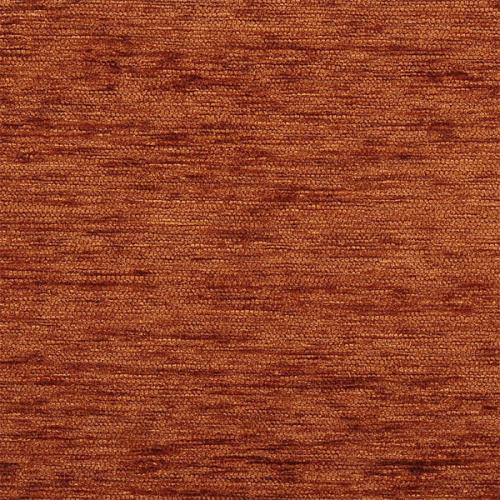 Žinylková jednobarevná látka SILVIE UNI 2805 hnědo-červená