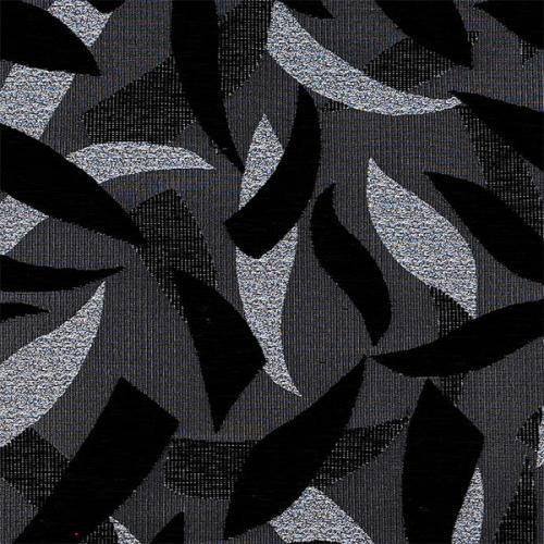 Čalounická žinylka se vzorem SILVIE 701 černá