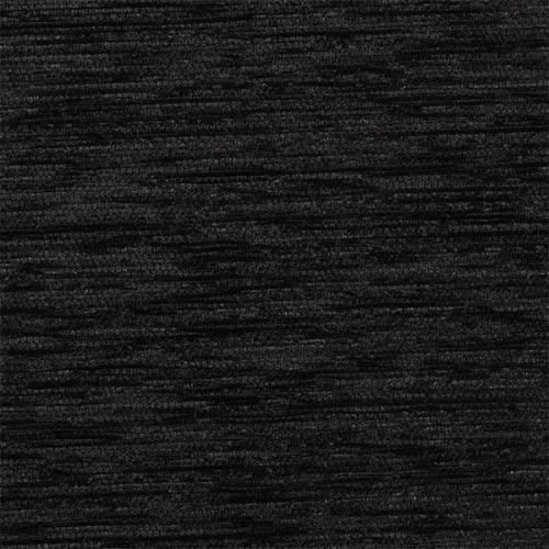 Žinylková jednobarevná látka KROUŽKY UNI 07-01 černá