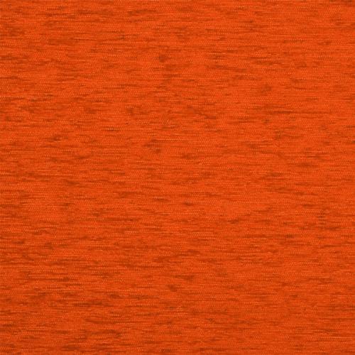 Žinylková jednobarevná látka KROUŽKY UNI 07-08 oranžová