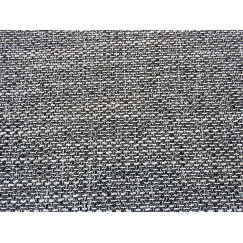 Žinylková potahová látka melír BERLIN 01 černo-bílá