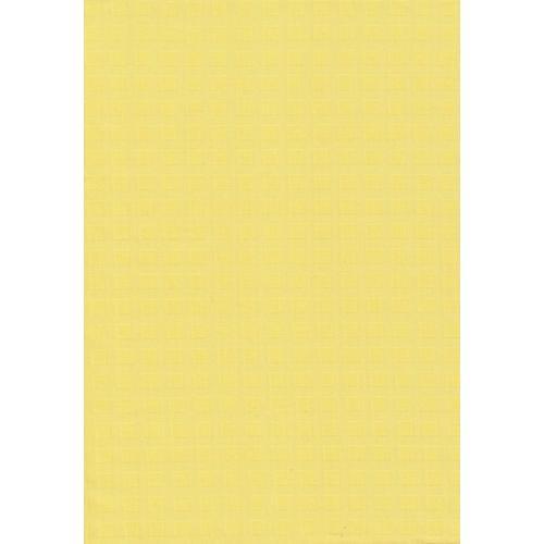 Ubrusovina s drobným vzorkem kostičky 1/169 žlutá